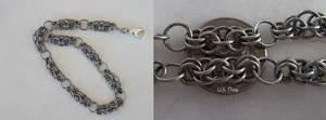 Delicate Coda Weave Chainmaille Bracelet