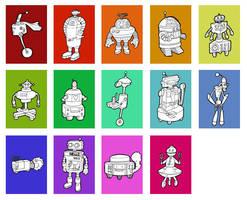 Robots by scifiguru