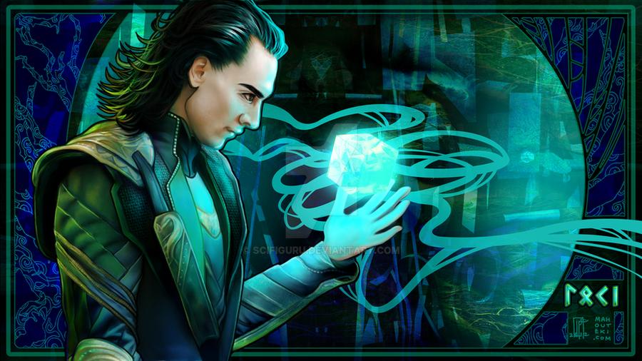 Loki Laufeyson by scifiguru