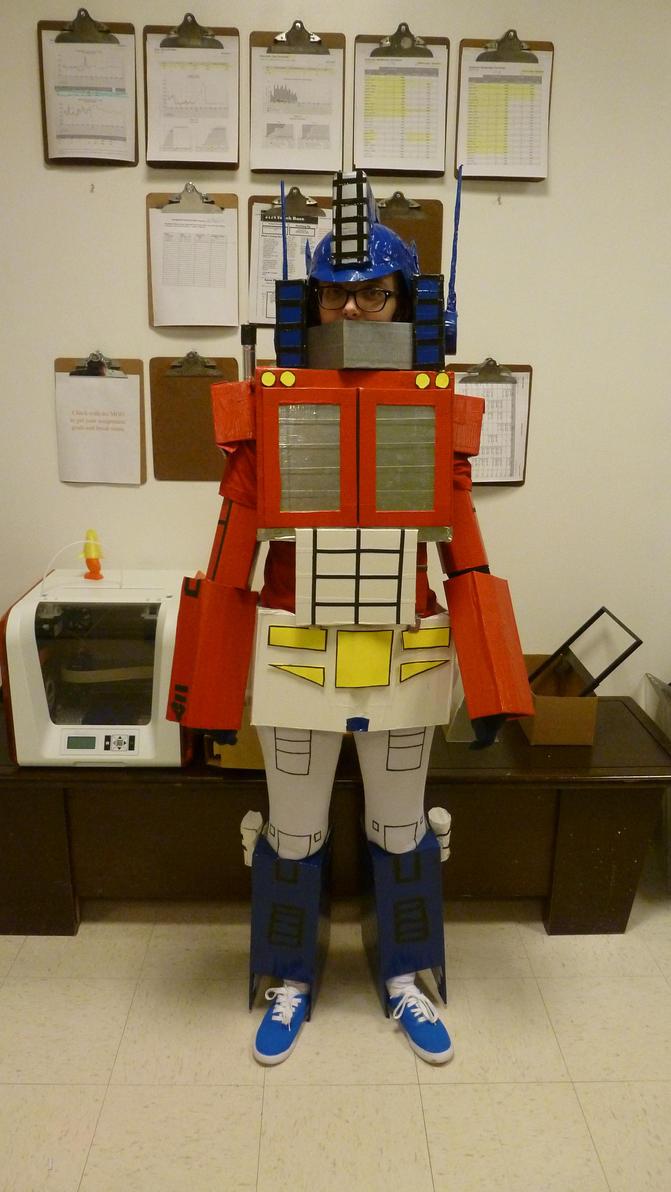 My name is Optimus Prime by Nemesis12