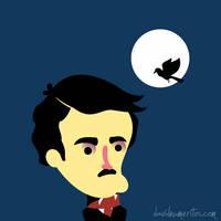 HBD Allan Poe! by le-numeritos