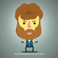 Chuck Norris by le-numeritos