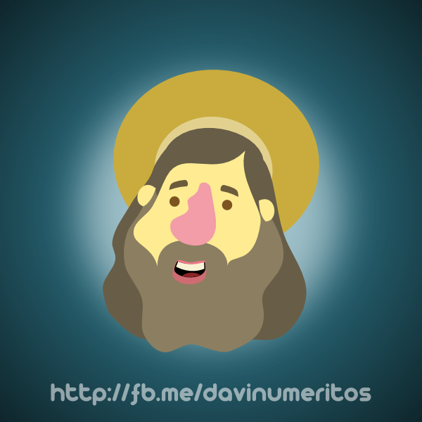Richard Stallman by le-numeritos