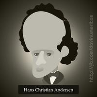 Hans Christian Andersen by le-numeritos