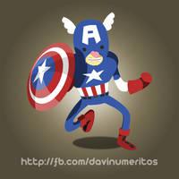 Capitan America by le-numeritos