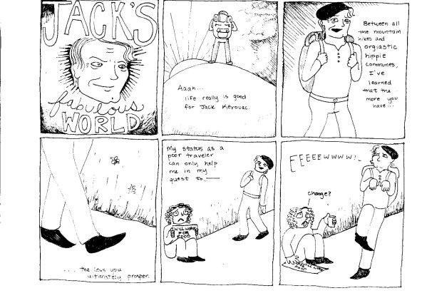 Jack Kerouac by ishotaparakeet