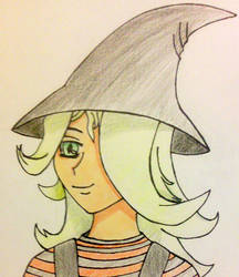 Witch Girl by chazpepper