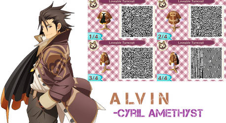 Animal Crossing QR - Alvin (Tales of Xillia)