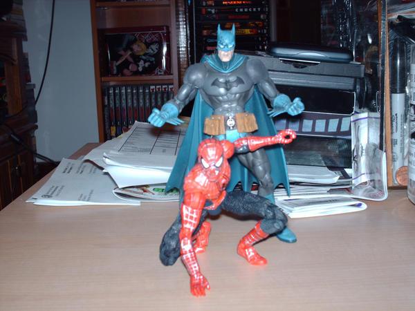 Spider-Man Batman by Blackbird2