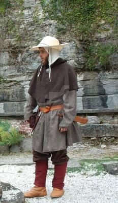 Simple medieval cloack