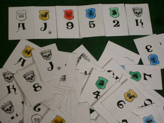 Finished Versum playing cards by Iagoba-F