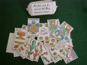 Navarrese playing cards, 1602 model
