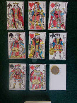 1816 French playing cards