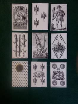 Jose Martinez de Castro 1810 playing cards.