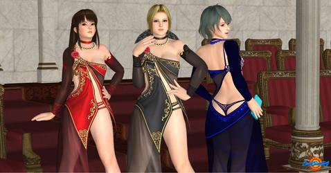 Elegant Beauty at the Opera by DarkSun64