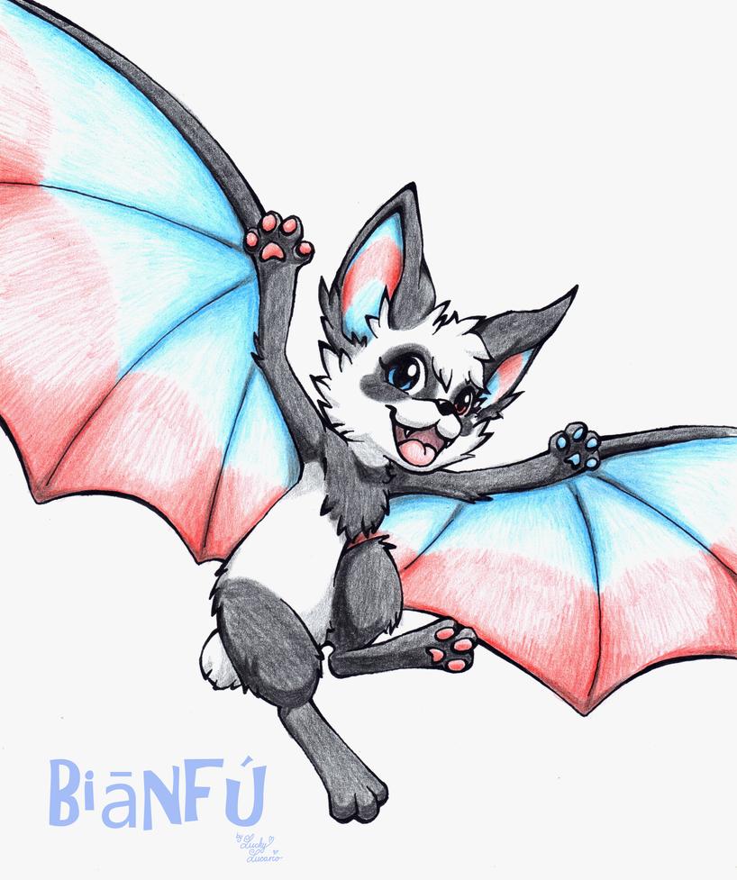 Little Panda-Bat by LuckyLucario