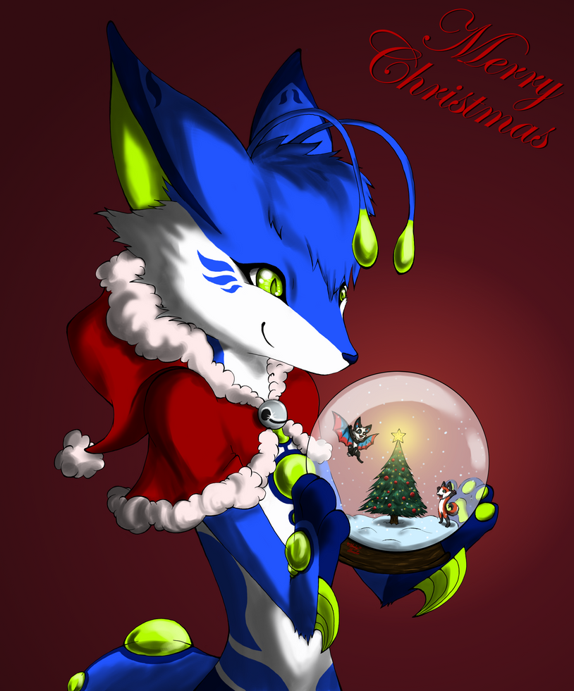 We Wish You A Furry Christmas by LuckyLucario