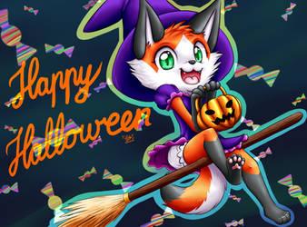 Happy Halloween by LuckyLucario