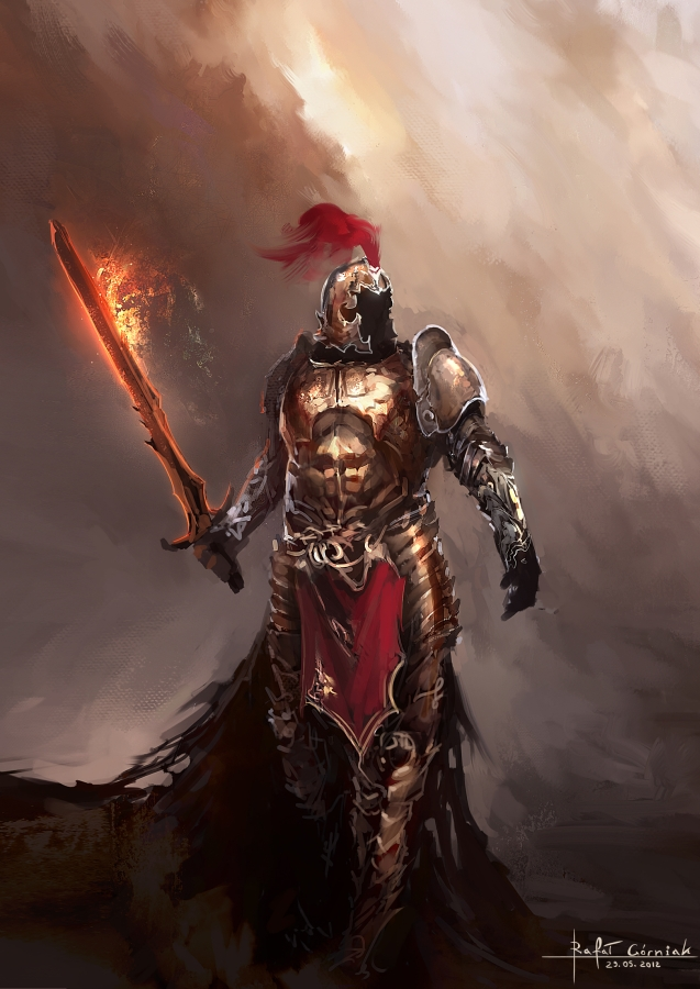 Dragon warrior concept by RaV89