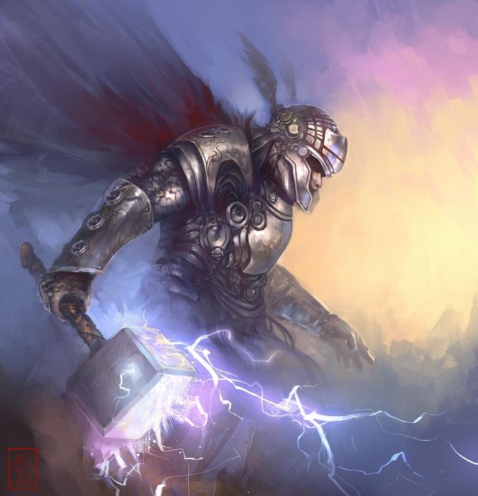 Thor by RaV89