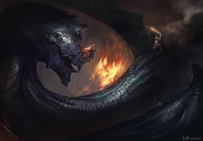 Dragon Rider by RaV89