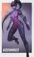 Widowmaker Overwatch by RaV89