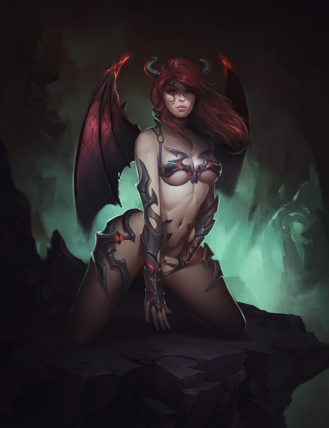 Succubus by https://www.deviantart.com/bryansyme on