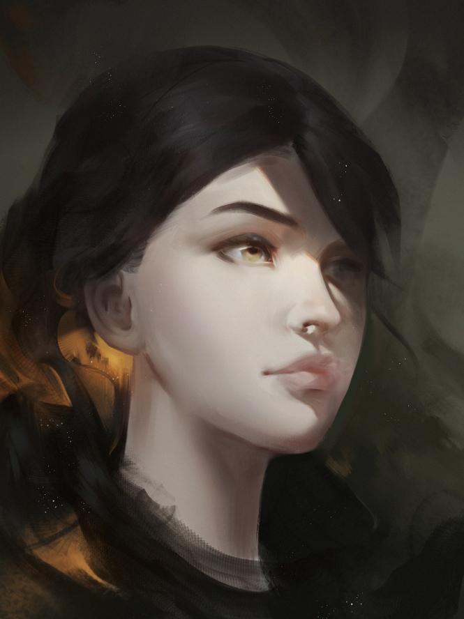 Potrait by RaV89