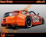 Honda S2k Toon - Impact Design