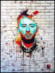 Thom Yorke: The Eraser by MrWormBrain