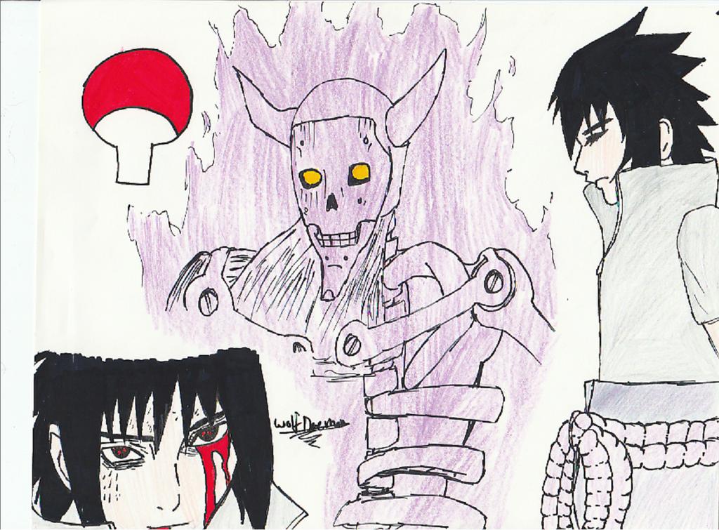 Sasuke Request by Crizadewolf
