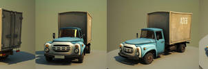 Cartoon car ZIL
