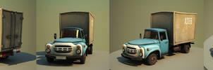 Cartoon car ZIL by Aci-RoY