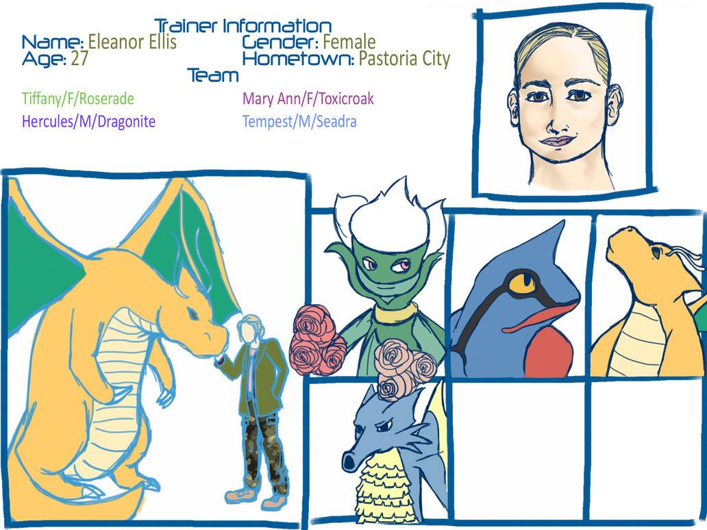 Eleanor: Trainer Sheet by Foxstarreh