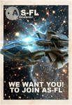 AS-FL Recruitment Poster, Aurora