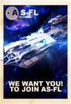 AS-FL Recruitment Poster, Constellation