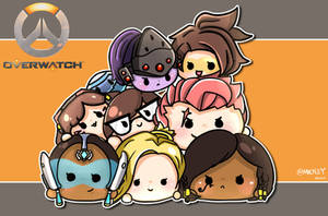 Overwatch x Tsum tsum by MickeyTsang