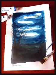 Dark Sky by D-Dyee
