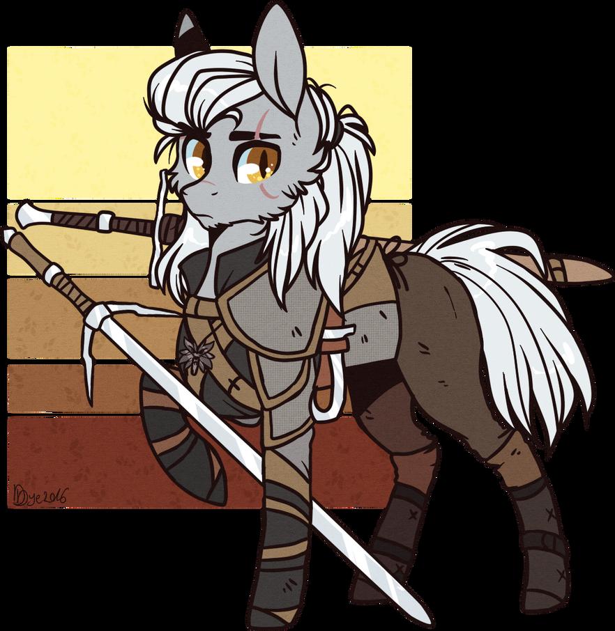 Geralt by D-Dyee