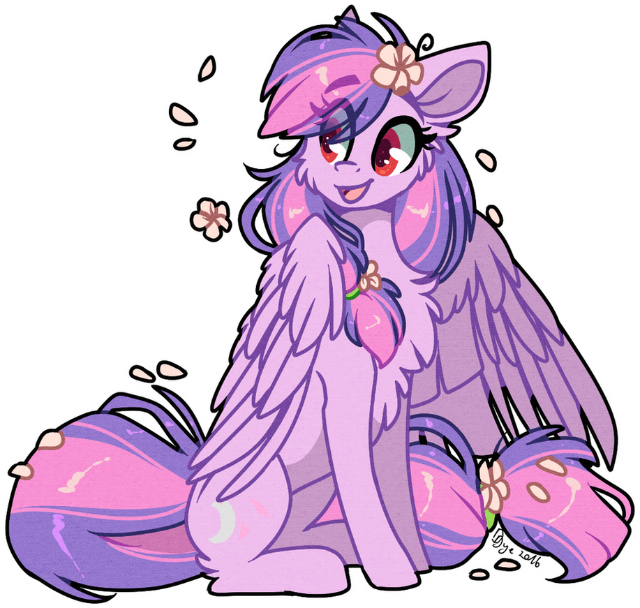 GIVEAWAY PRIZE : MoonlightBlume (+speed paint) by D-Dyee