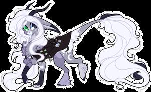 #9 Gatori - Lunae Cruento (Shiny Moonstone) by D-Dyee
