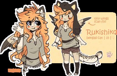 OC : Rukishiko by D-Dyee
