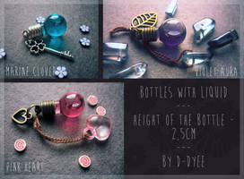 <b>FOR SALE : Liquid Bottles (closed)</b><br><i>TenebrisTayga</i>