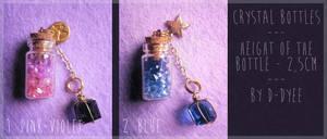 <b>FOR SALE : Crystal Bottles (closed)</b><br><i>TenebrisTayga</i>