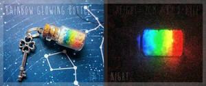 <b>FOR SALE : Rainbow Glowing Bottle (closed)</b><br><i>TenebrisTayga</i>