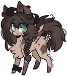 AUCTION : Spotted pone (closed)