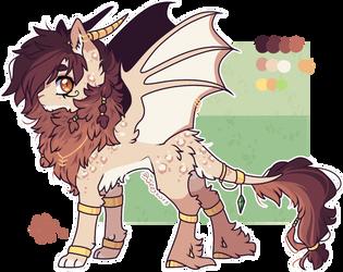 AUCTION : Lion Bat Pony Adopt (closed) by D-Dyee