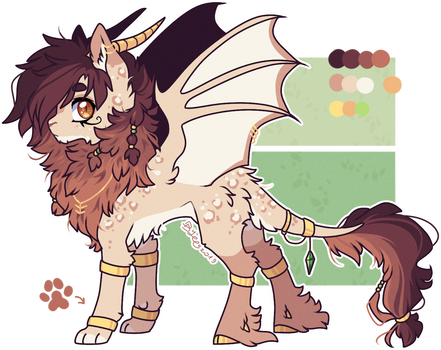 AUCTION : Lion Bat Pony Adopt (closed)