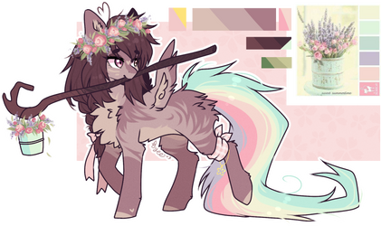 AUCTION : Flower Pone (closed) by TenebrisTayga