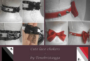 FOR SALE : Lace Chokers (closed)